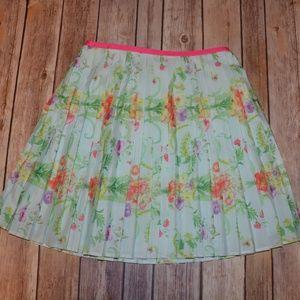 Girls' Baker by Ted Baker Floral Pleated Skirt 10